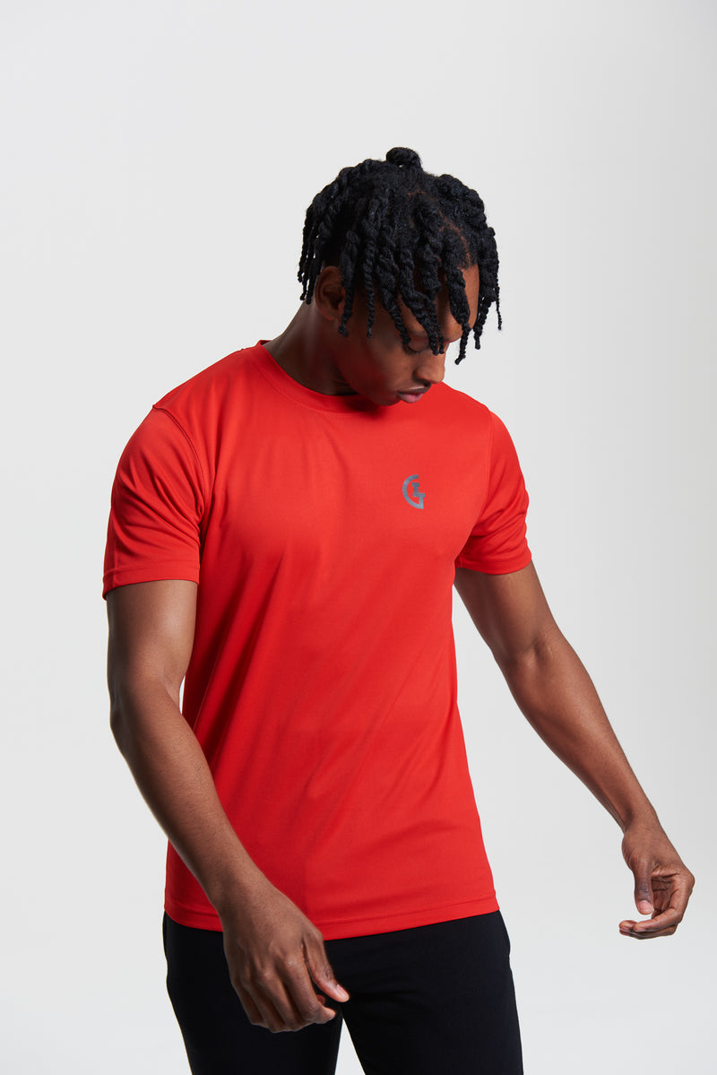 Men's Classic ILTG Gym Tee - Red