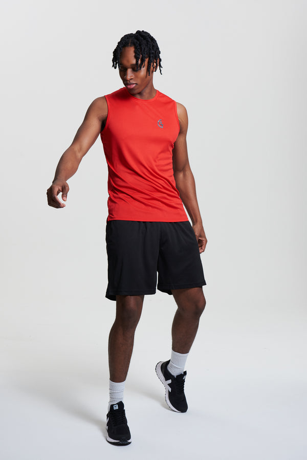 Men's Classic ILTG Gym Vest - Red