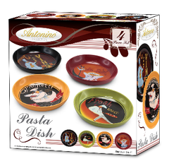 4 Piece Pasta Series Bowl Set Dish
