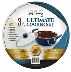 Iko Deluxe Copper Series 4.5 qt Ultimate cooker