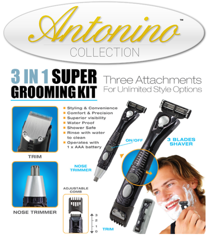 3 in 1 Super Grooming Kit