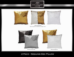 Amy Miller 2 pack Jumbo Decorative pillows