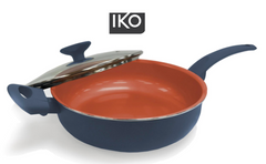 Iko Deluxe Copper Series 3.5qt Sauté Pan