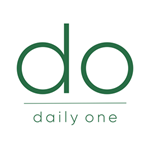 Logo for the Daily One brand.  The word