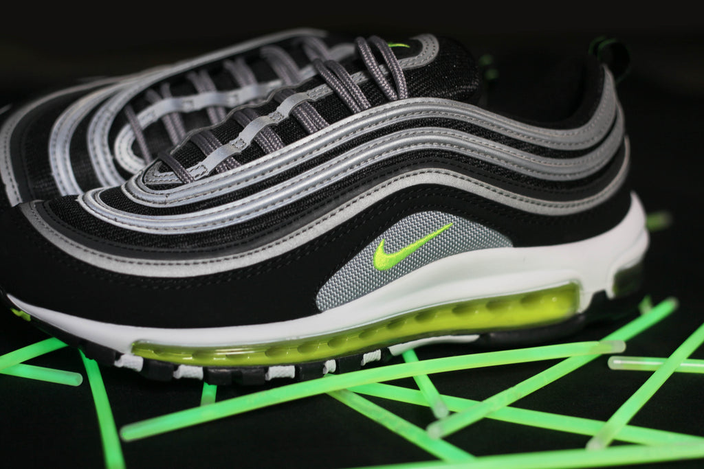 best website ea241 28ff6 NIKE AIR MAX 97 JAPAN OG Black, Volt   Metallic Silver Originally released  as a Japanese exclusive almost 12 years ago, the Air Max 97 Nike s Air Max  97 ...