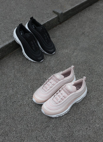 f29eabeef9591b ... is the Women s Nike Air Max  97 Premium Snakeskin in Pink Silt Red    White   Black   Black colourways. each both featuring a premium upper