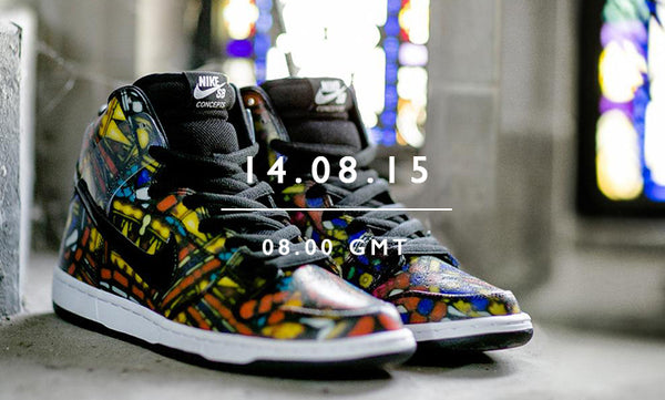 07f34ee37fde Concepts x Nike SB Dunk High  Stained Glass  – Kong Online