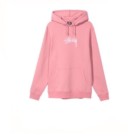 Stussy Stock Applique Hood Orchid