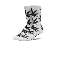 HUF Plantlife Crew Sock White Black