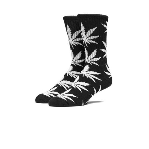 HUF Plantlife Crew Sock Black White