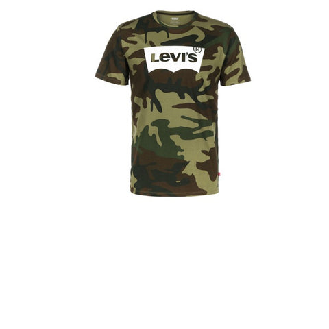 Levis Housemark Graphic Tee SSNL Full Camo