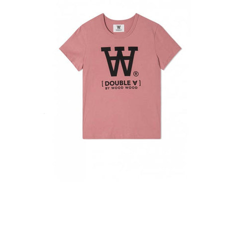 WOOD WOOD Big Ace T-Shirt Dark Rose