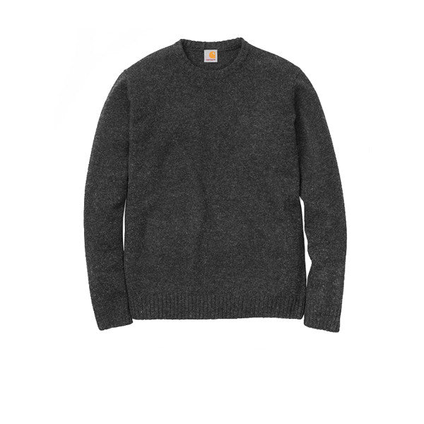 Carhartt University Sweater Shetland Wool Black Heather Black - Kong Online
