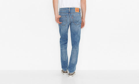 Levi's 511 Slim Fit Harbour Blue Washed - Kong Online - 2