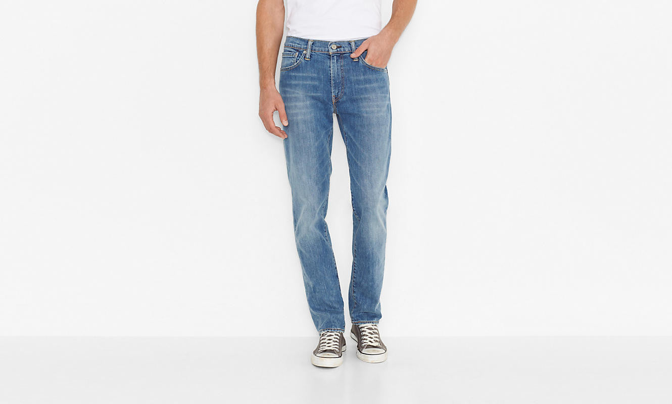 Levi's 511 Slim Fit Harbour Blue Washed - Kong Online - 3