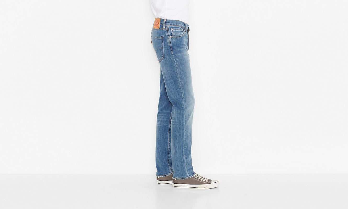 Levi's 511 Slim Fit Harbour Blue Washed - Kong Online - 4