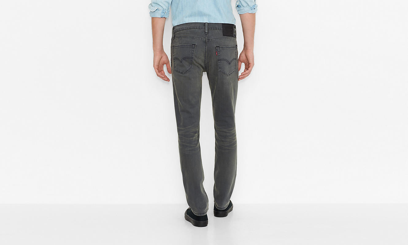 Levi's 511 Slim Fit Joplin Grey Washed - Kong Online - 2