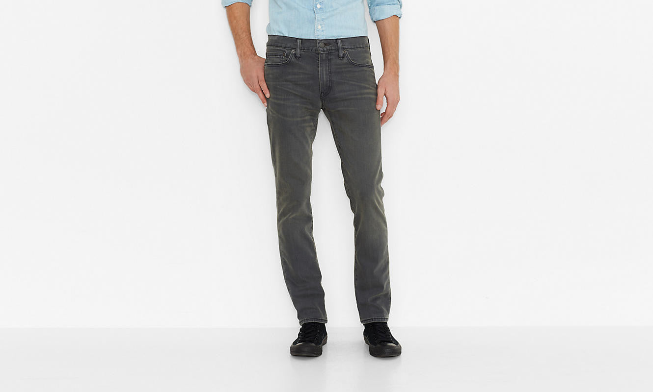 Levi's 511 Slim Fit Joplin Grey Washed - Kong Online - 3