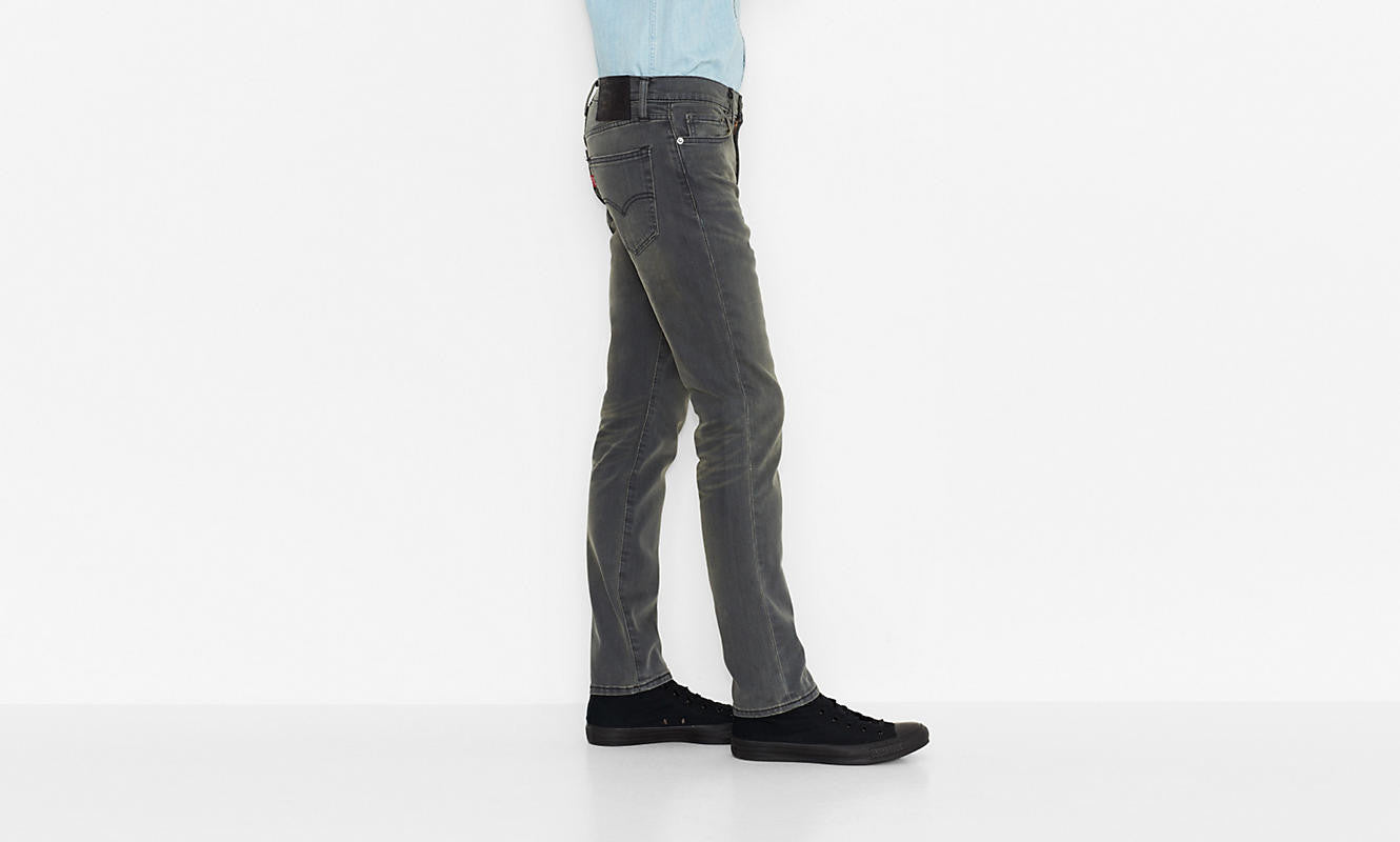 Levi's 511 Slim Fit Joplin Grey Washed - Kong Online - 4