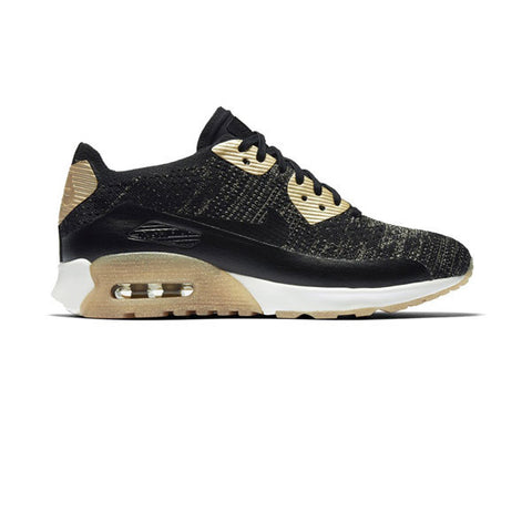 Nike W Air Max 90 Ultra 2.0 FK Mtlc Black Metallic Gold