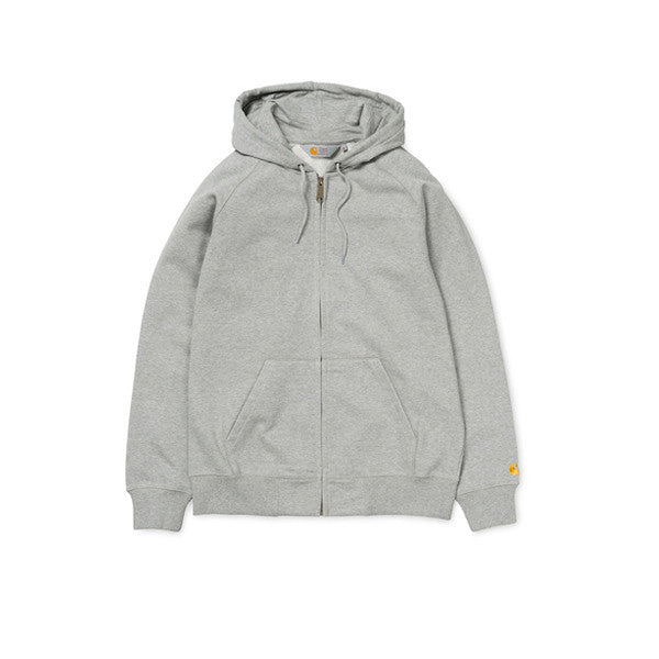 Carhartt Hooded Chase LT Jacket Grey - Kong Online - 1