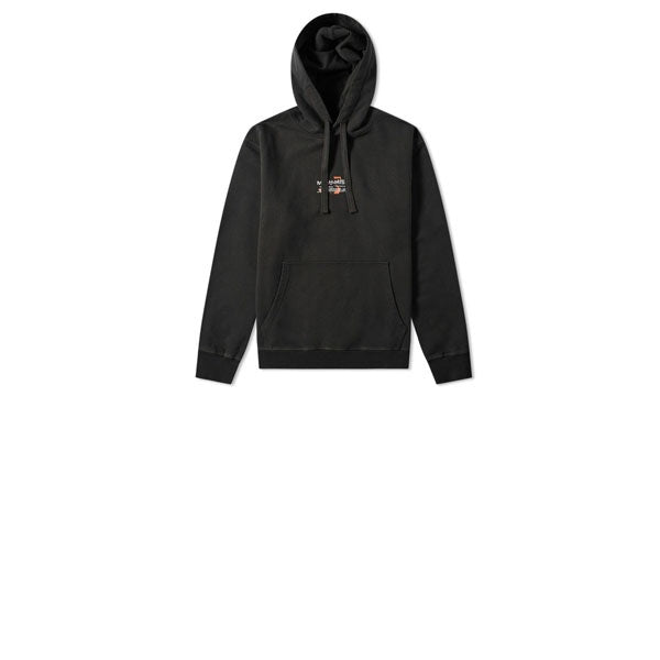 Maharishi Shattered Miltype Emb Hooded Sweat Black