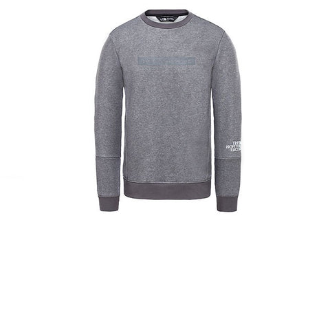 The North Face Light Crew TNF Medium Grey Heather