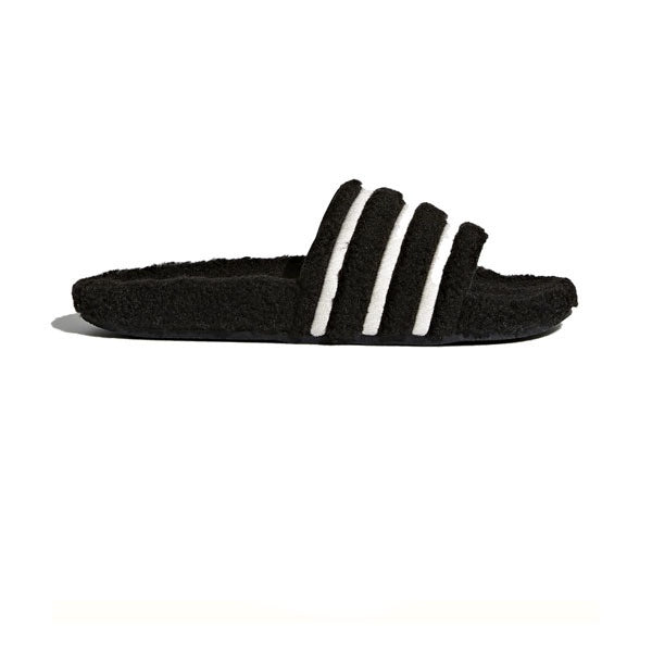 Adidas Adilette W Black Chalk White