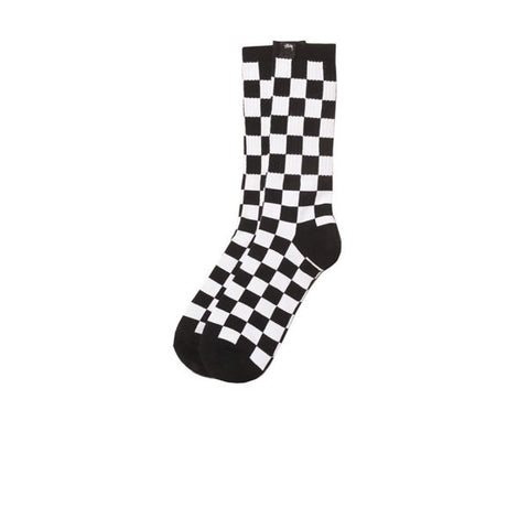 Stussy Checker Socks Black