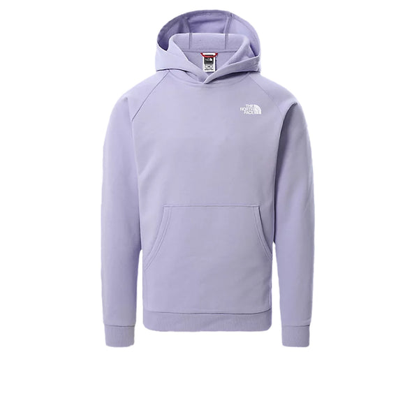 The North Face Raglan Red Box Hoodie Sweet Lavender