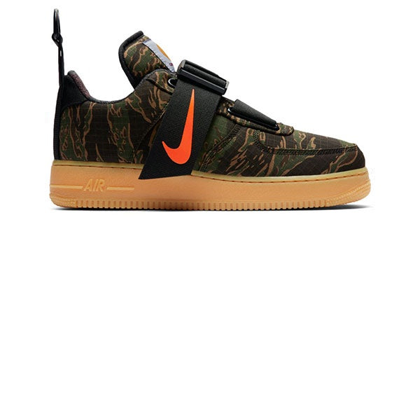 Nike Air Force 1 UT Low Prm WIP Camo Green Total Orange