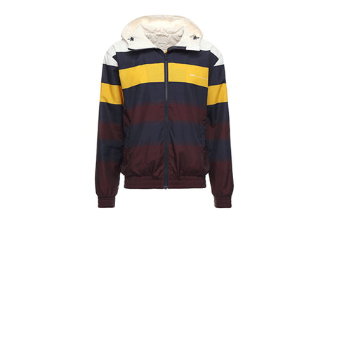 WOOD WOOD Emmett Jacket Navy Stripe