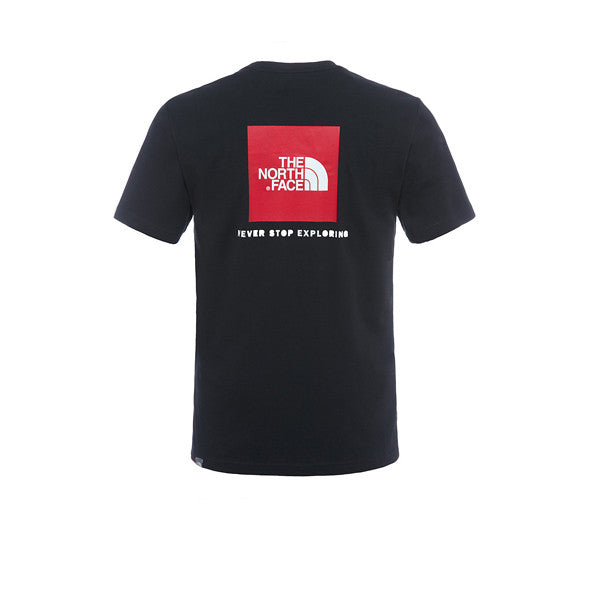 The North Face S/S Red Box Tee TNF Black - Kong Online - 2