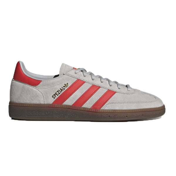 Adidas Handball Spezial Grey Two Hi-Res Red Gold Metallic