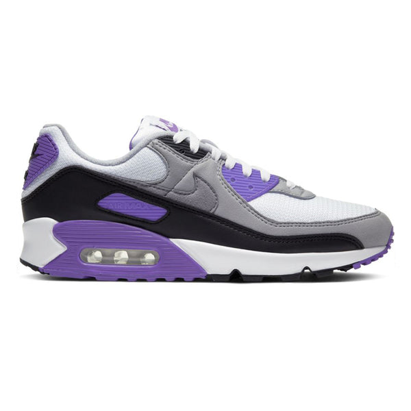 Nike Air Max 90 Grey Hyper Grape Black