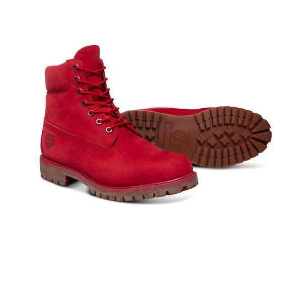 Timberland 6inch Prem Boot Red - Kong Online - 2