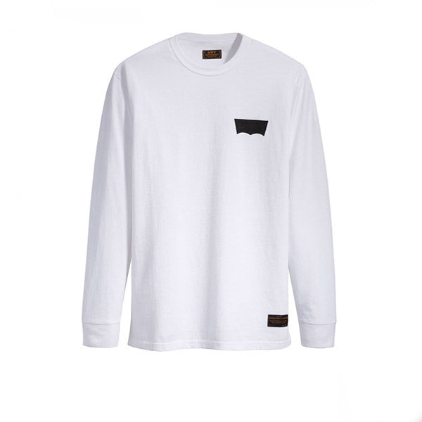 Levis Skate Graphic L/S Tee White