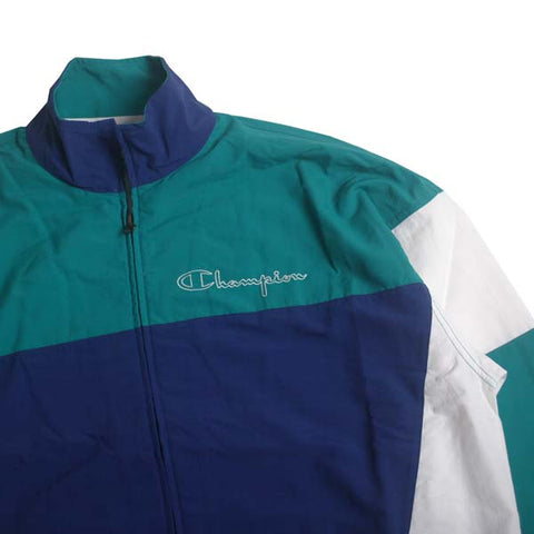 Champion Full Zip Top Blue Green