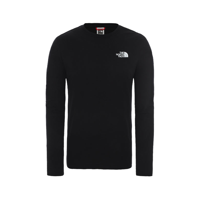 The North Face LS Red Box Tee Black