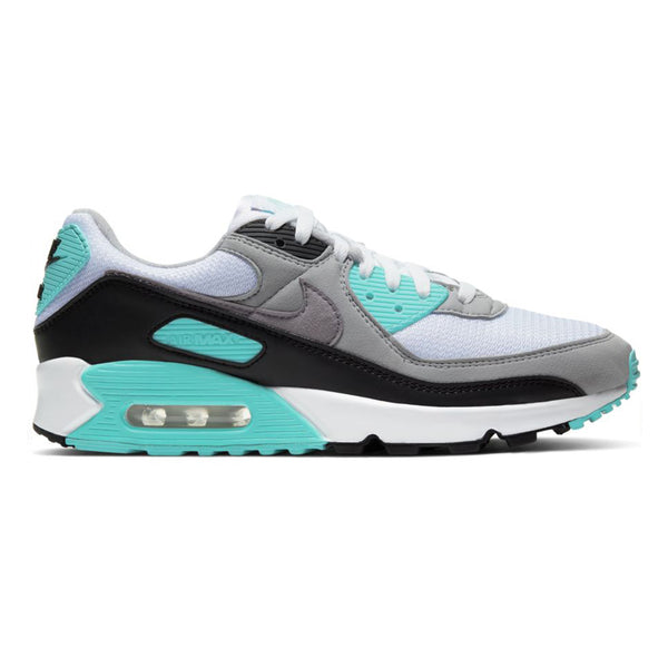 Nike Air Max 90 Grey Hyper Turq Black