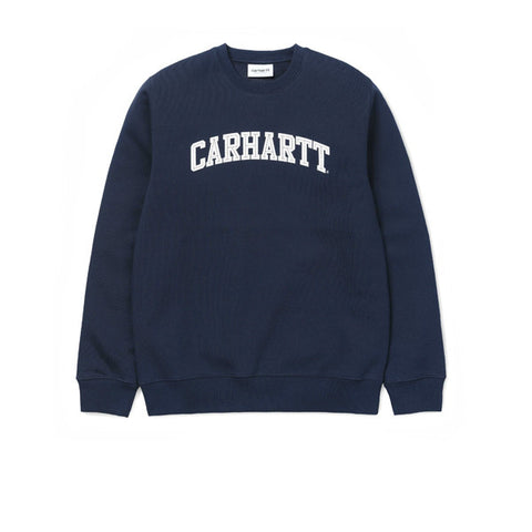 Carhartt Yale Sweat Navy White - Kong Online - 1