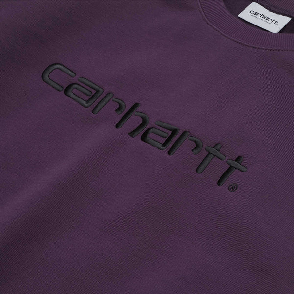 Carhartt WIP Sweat Boysenberry/Black