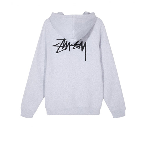 Stussy App Hood Ash Heather