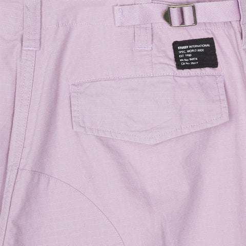 Stussy Ripstop Cargo Pant Lavender
