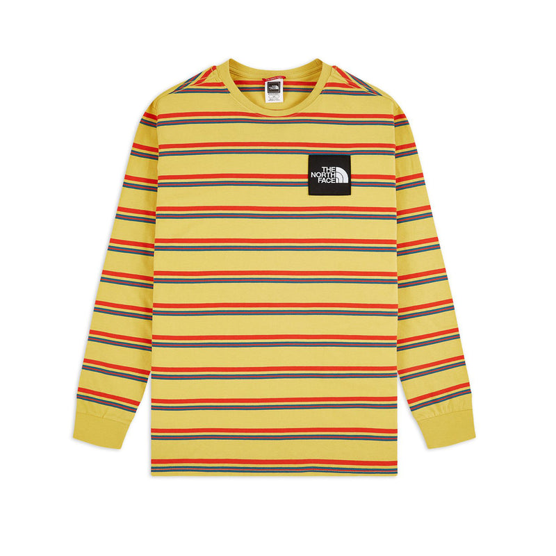 The North Face Boruda LS Tee Bamboo Yellow