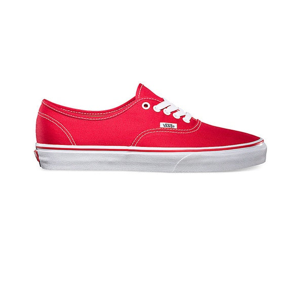 Vans U Authentic Red