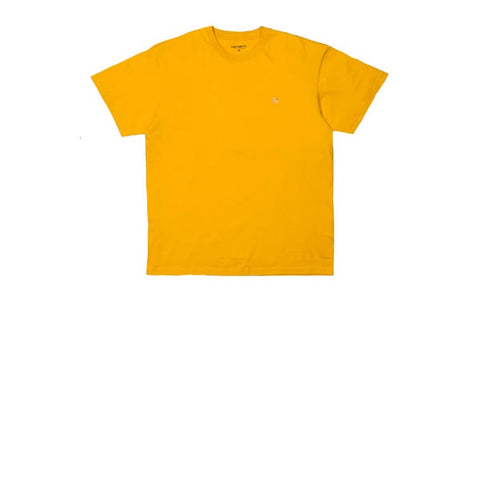 Carhartt S/S Chase T-Shirt Combed Quince Gold