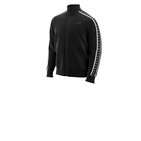 Nike Taped Swoosh Jacket Black