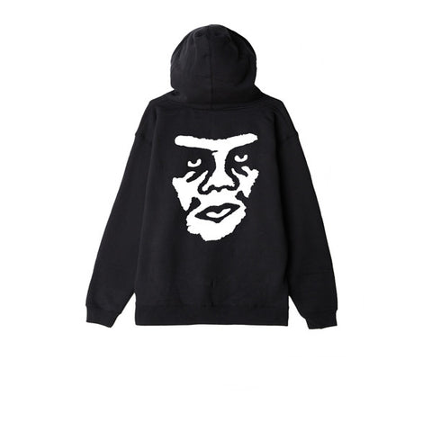 Obey The Creeper Hood Black
