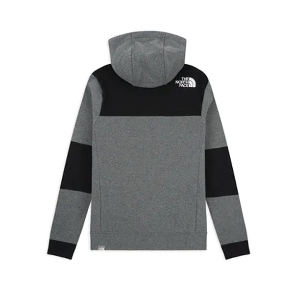 The North Face Himalayan Full Zip Hoodie Grey Heather